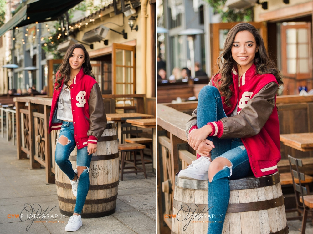 Palo Alto Castellja School Senior Portraits CYW Photography 1